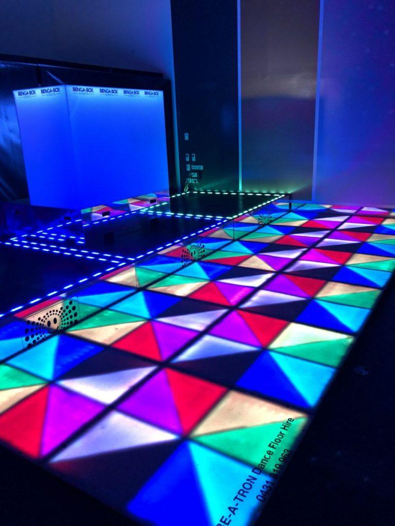 Vibeatron Dancefloor for Hire